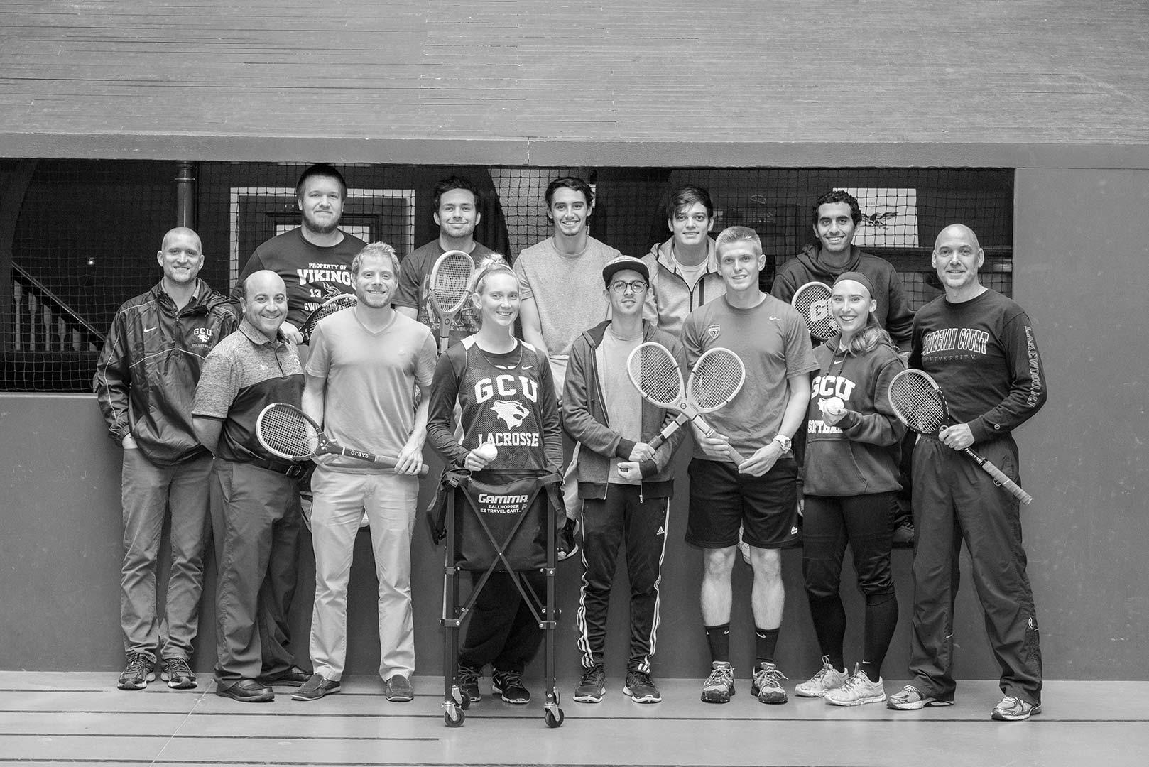 GCU Court Tennis